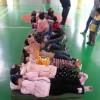 Хятадын дунд сургуулийн биеийн тамирын хичээл