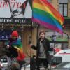 Украйны ЛГБТ-чүүд жагсаж байна