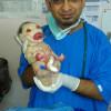 Энэтхэгт арьсгүй хүүхэд төржээ