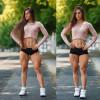Фитнес модель Бахар Набиева